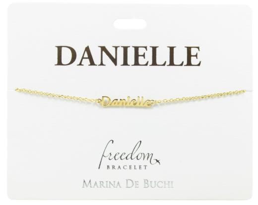Caitlin Catherine Chantelle Charlie Chelsea Claire Named Freedom Bracelet