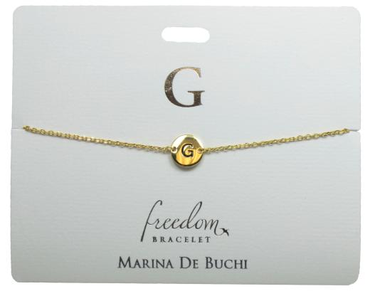 F Fran G Gemma Georgia Georgina Grace Named Freedom Bracelet